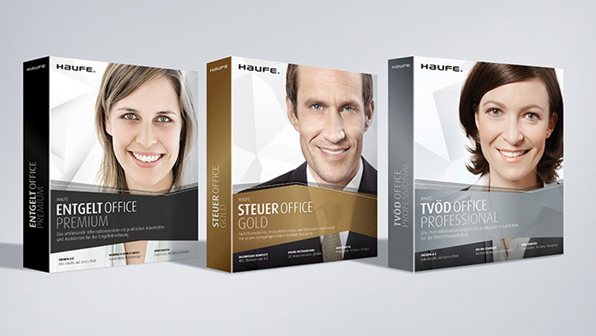 People in focus: the new Haufe packaging