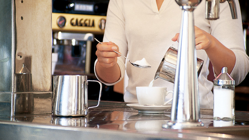 Münchens bester Agentur-Cappuccino