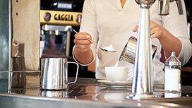 Münchens bester Kreativ-Cappuccino