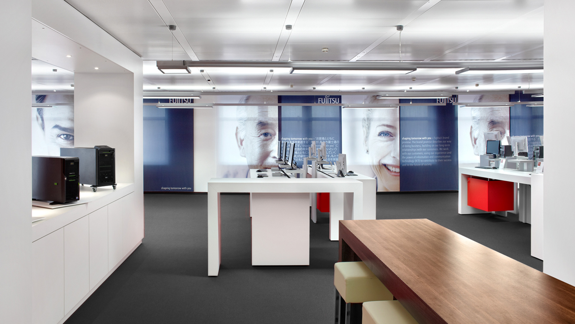 Fujitsu customer center for Interior design augsburg