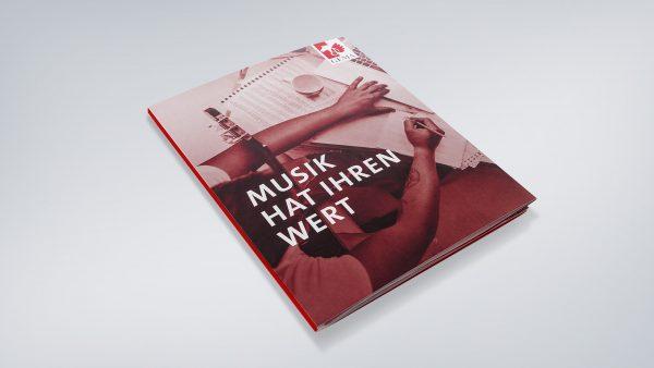 Werbeagentur RED kreiert die Imagebroschüre GEMA