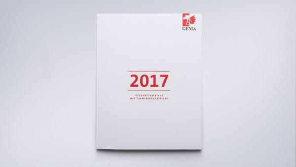 Der GEMA Geschäftsbericht 2017 erscheint im innovativen Design