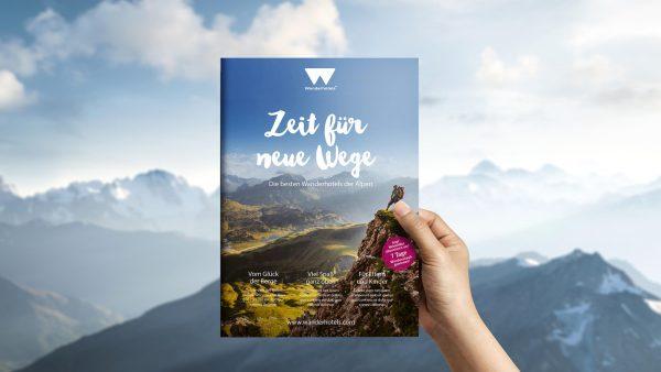 Werbeagentur RED entwickelt Markenkommunikation für Wanderhotels