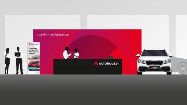 autohaus24: Neuer Auftritt nach rebranding