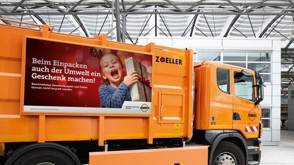 RED entwickelt Kampagne zum Thema Müll vermeiden