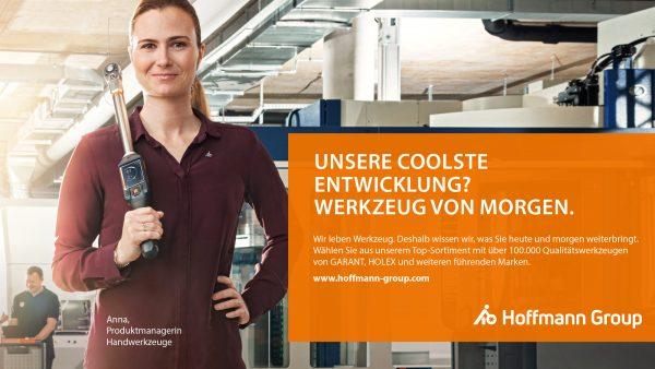 Die neue Markenpositionierung Hoffmann Group von der Werbeagentur RED