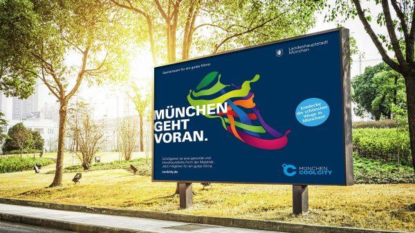 RED entwickelt die aktuelle Kampagne Klimaschutz 2021 für München.